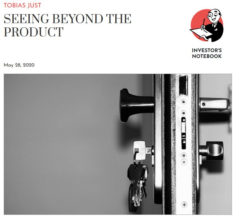 Seeing beyond the product: Just published a short note on the property chronicle webpage. Many real estate & construction comp. still focus too much on the tangible side of real estate. But tenants increasingly call for #services - beyond just using space. https://bit.ly/3gBUwbhpic.twitter.com/NeV7huRokX
