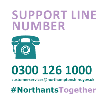 If you are self-isolating due to the Coronavirus situation and have no other forms of support, you can contact us to request help with: Urgent food deliveries, prescription medication collection, support with loneliness and more. Call 0300 126 1000 (Option 5) #NorthantsTogether