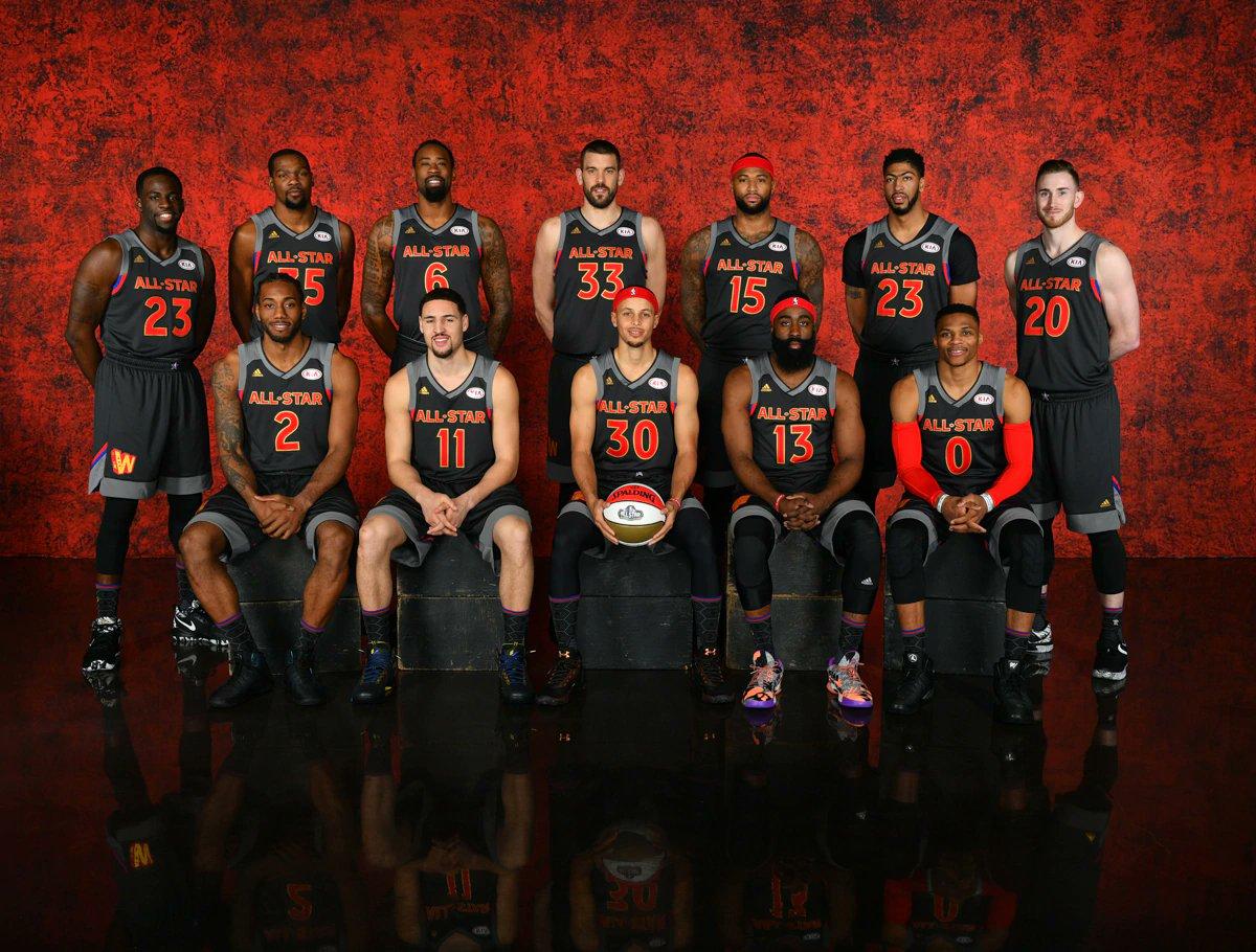 Echando la vista atrás en la 2016-17:  MVP - R. Westbrook ROY - Malcolm Brogdon DPOY - Draymond Green MIP - G. Antetokounmpo 6MOY - Eric Gordon  First Team All-NBA: -Russell Westbrook -James Harden -Kawhi Leonard -LeBron James  -Anthony Davis  NBA Finals 🏆: Warriors 4 - Cavs 1 https://t.co/TvSEzbsLzL
