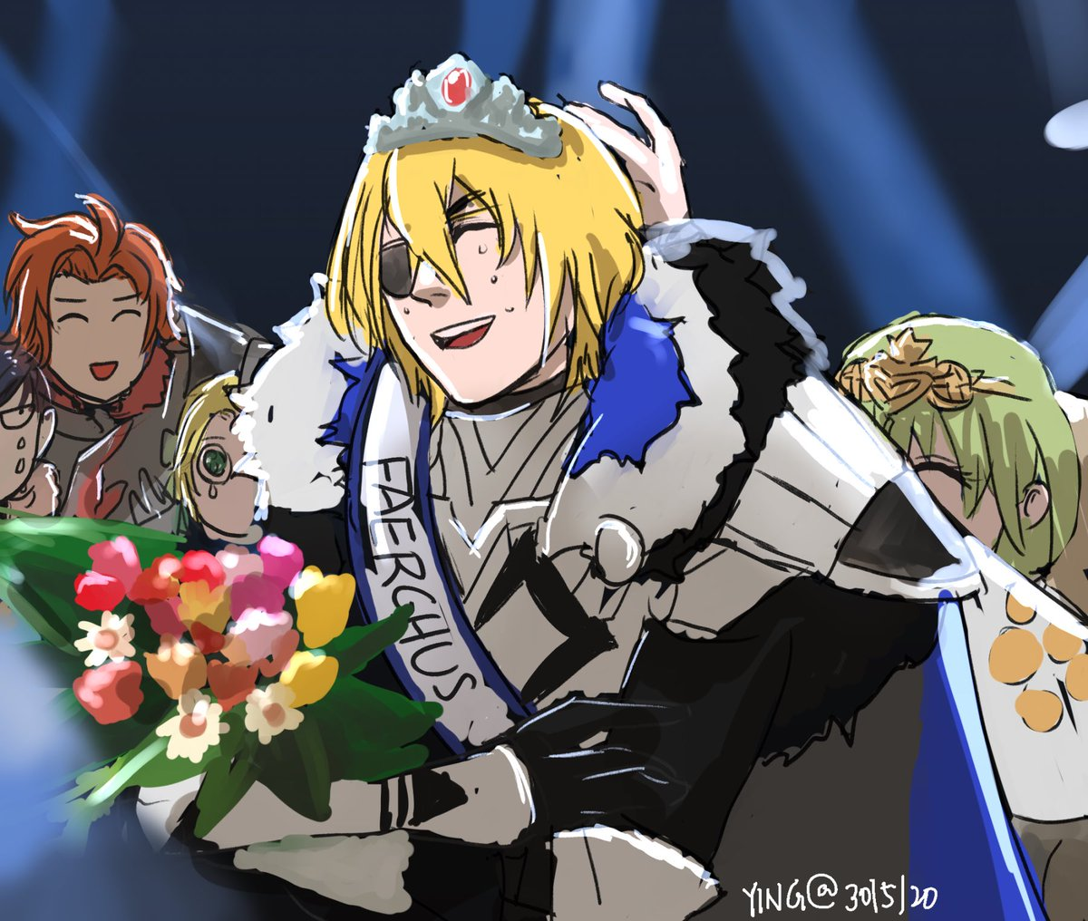 Crowning #FireEmblemThreeHouses #FE3H