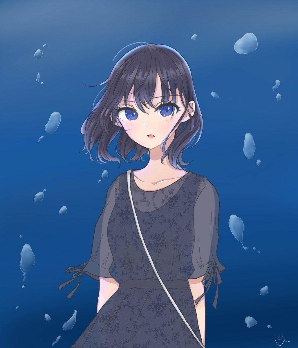 Blue   #イラスト #練習中です #絵描きさんとつながりたいpic.twitter.com/DXcvnk8yNw