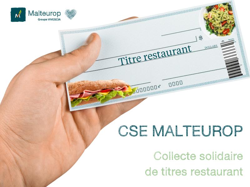 Le CSE France organise une collecte #solidaire de titres restaurant pour pallier à la perte subie par les salariés placés en activité partielle. C'est #ensemble que nous traverserons ces difficultés. 👏 Bravo à tous pour ce nouvel effort #COVID19 https://t.co/2dIS7YKlJi