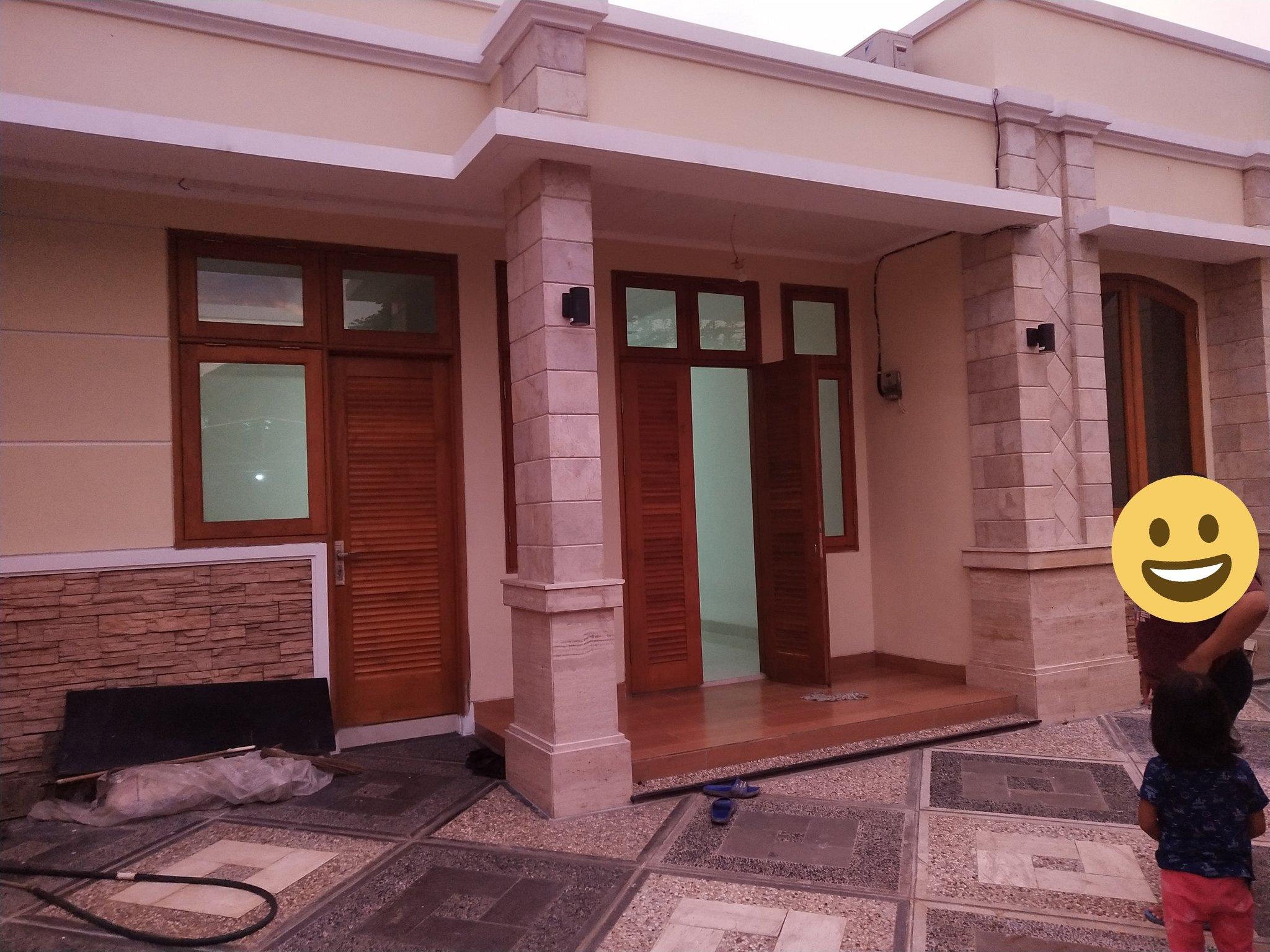 Penampakan rumah baru Dwi Anggreani, istri yang ditinggal wafat suami ketika rumah baru selesai dibangun.