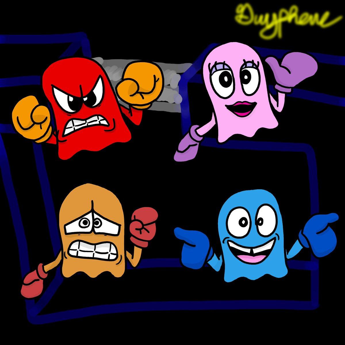 Some spookies! #PacMan #digitalartpic.twitter.com/9sYKkrkOVY