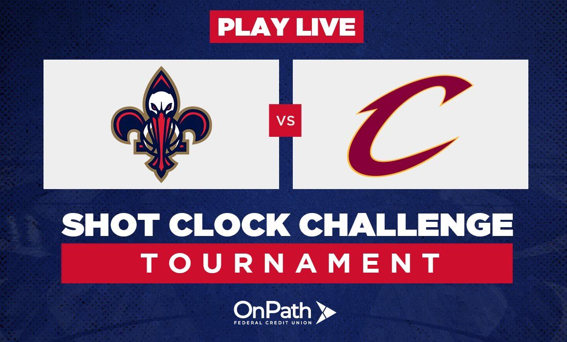 Another dominant win has us on top of the leaderboard and facing off against Cavs fans today in the Shot Clock Challenge! Download our app here and help us get another win: neworlns.co/app #WontBowDown| @OnPathFCU