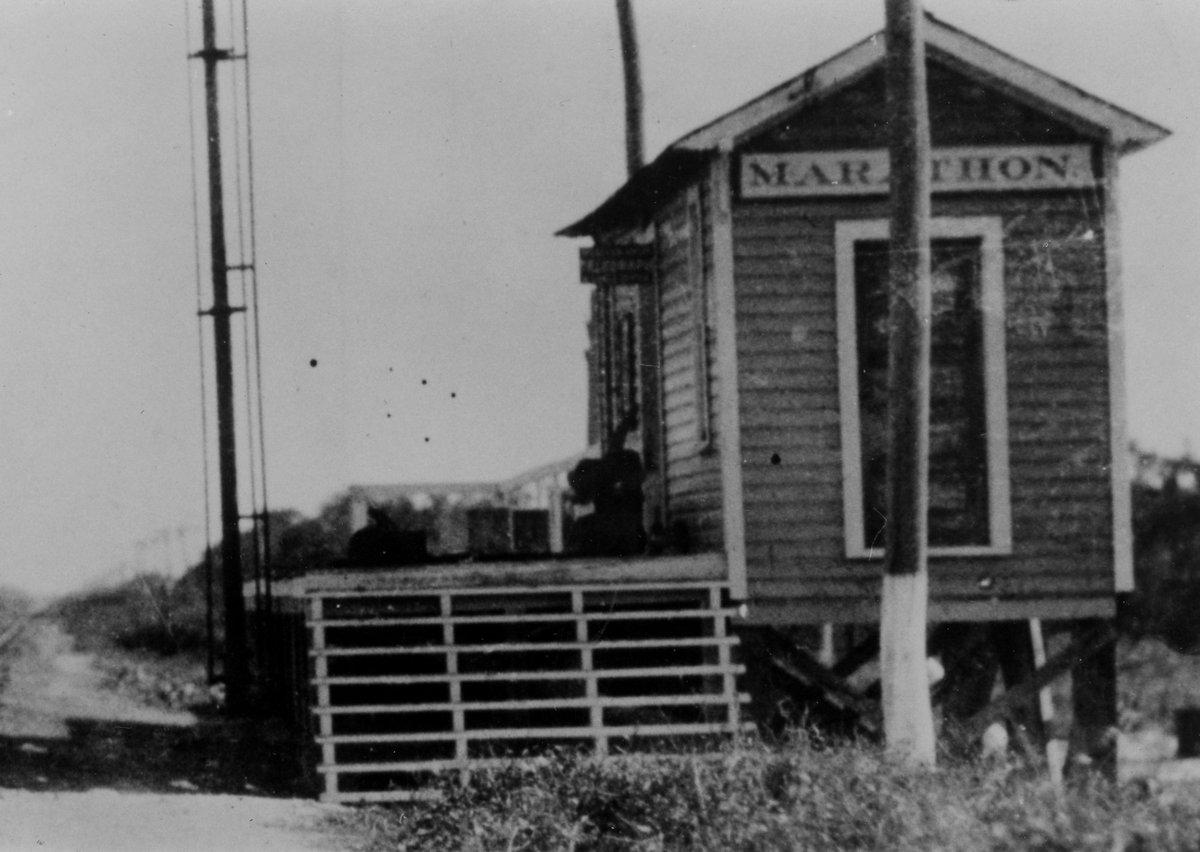 Railroad Depot on the island of Key Vaca in Marathon. #Marathon #MiddleKeys #thefloridakeyspic.twitter.com/hAFfSE22WM