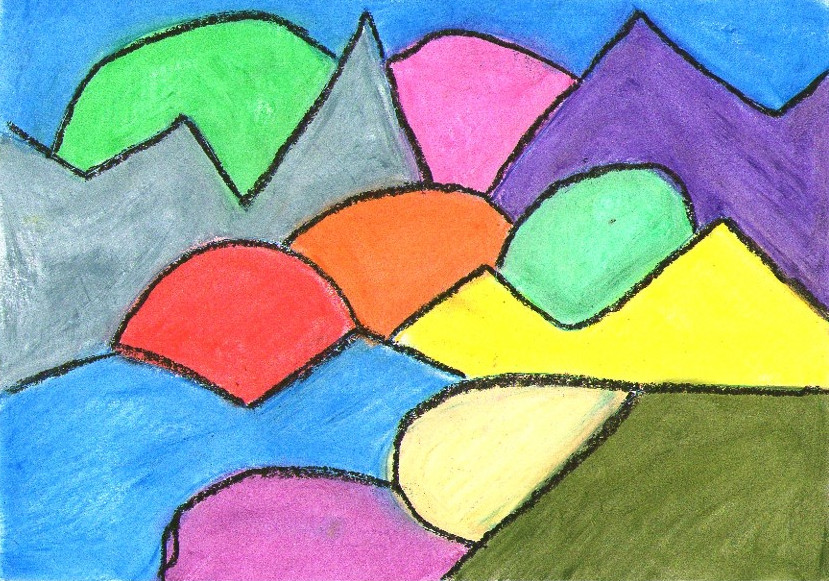 Lake Como , Oil Pastels on A4 #art #arte #kunst  #abstractart #abstractpainting #abstractexpressionismpic.twitter.com/BslLuZ2791