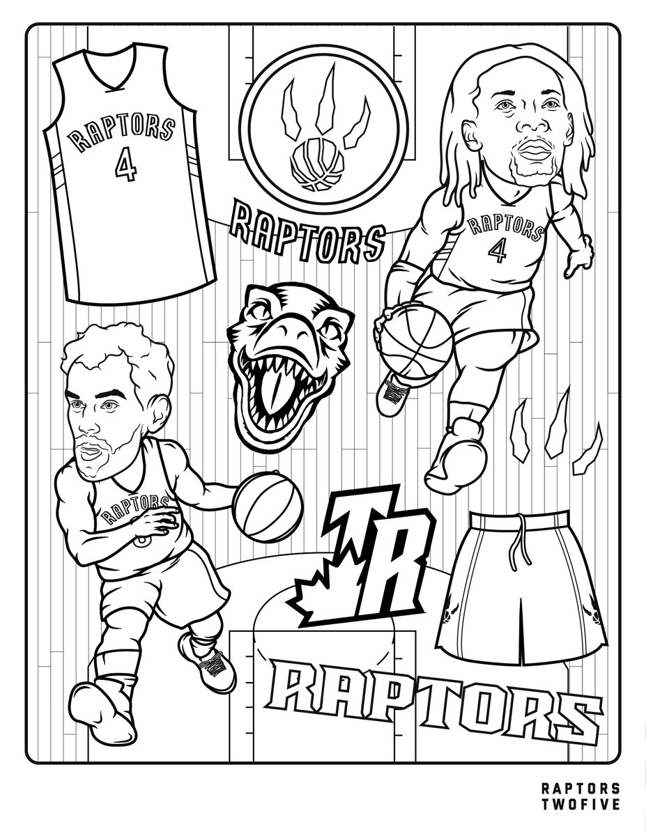 You know what time it is, kids. Sharpen those pencil crayons and get to work. #WeTheNorth | #NBATogether