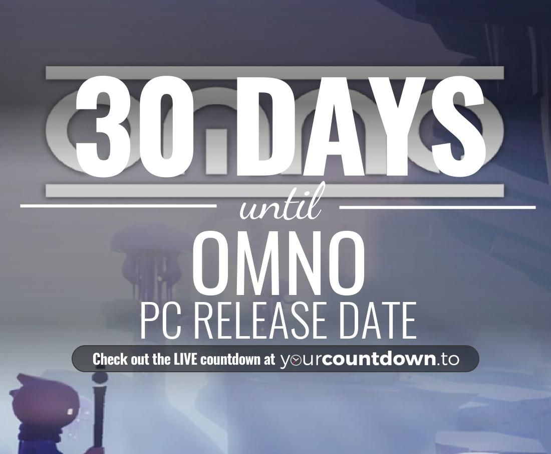 Only 30 more days before OMNO - PC Release Date #OMNO          👇👇 Visit the website to see the LIVE countdown 🕒 https://t.co/KtWFijmxxS https://t.co/r5xegK0duR