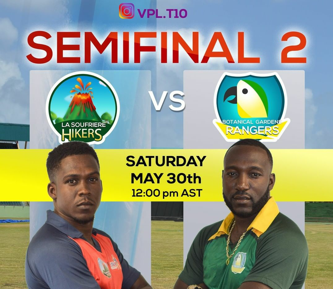 SEMIFINAL 2! The Rangers take on the Hikers, another crowd favorite who also boast a 87.5% win rate.  #VincyPremierLeague<br>http://pic.twitter.com/qgvfanvNlZ