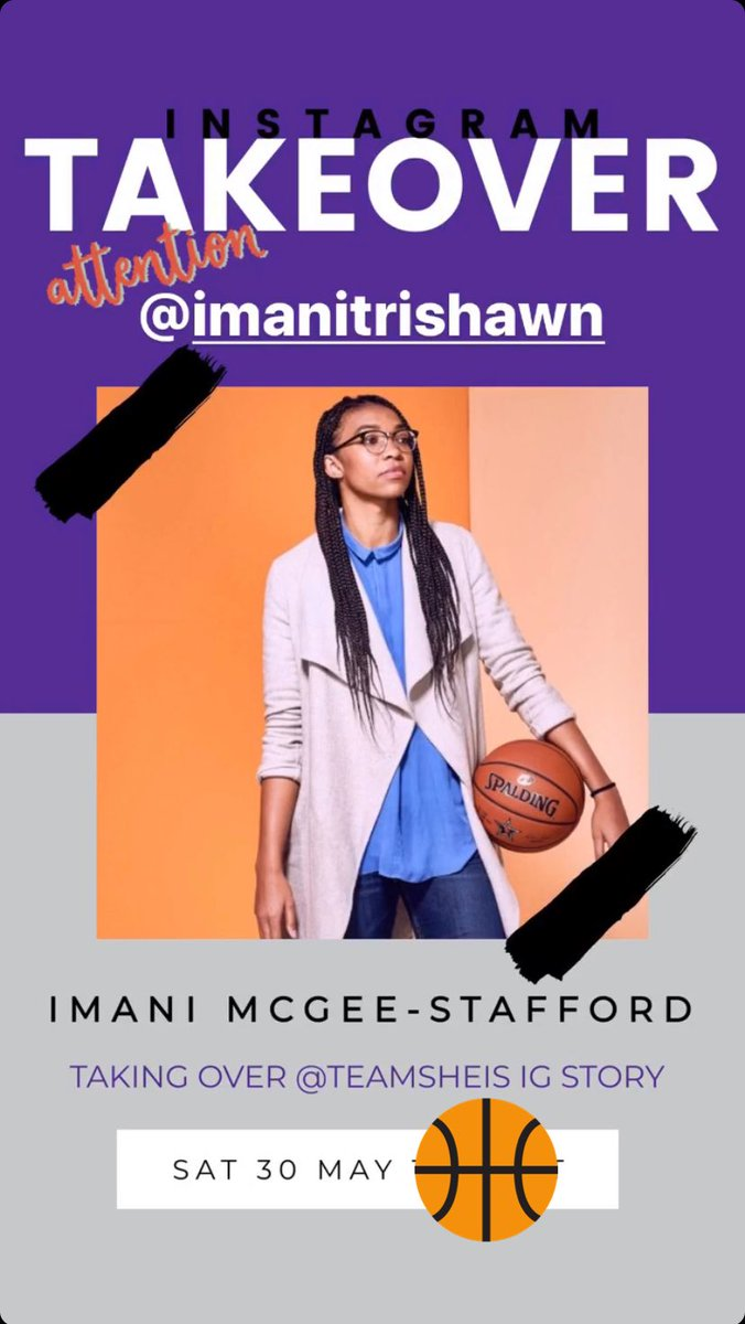 Happening now! Head over to the @TeamSheIS IG Story to see how @imanitrishawn_ is spending her Saturday! #SheISAmbassador #WomenWorthWatching https://t.co/WQ9vcda6IA