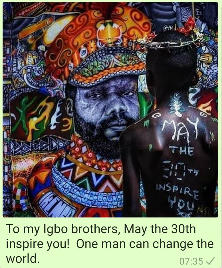 May the 30th Inspire us all!!! Sellah!