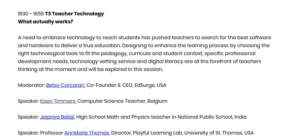 Next up: @zelfstudie on #T4Conf!