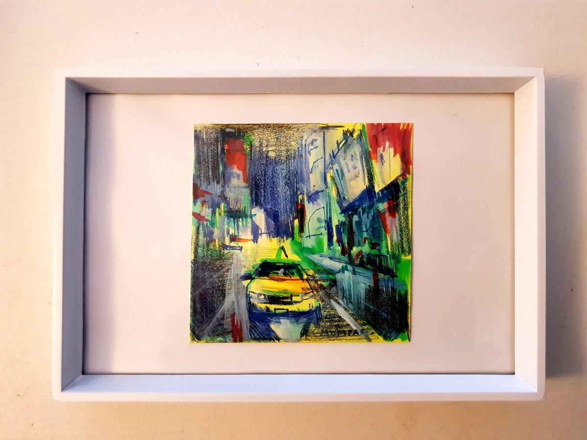 "Sold!  ""Urban City""  #arte #pintura #pincel #caballete #art #cultura #oil #paintpic.twitter.com/AEandnhR54"