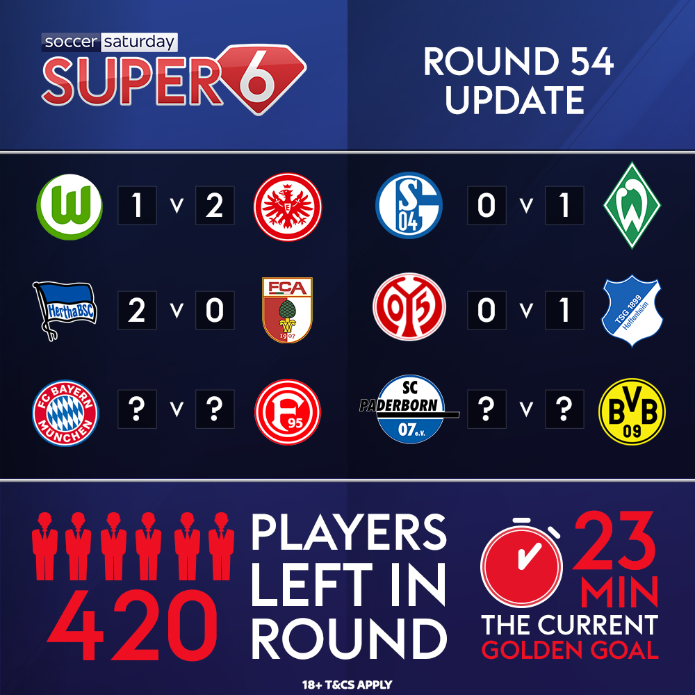The first four games are over, now just two to go ⚽️ Youre on for the jackpot, and you guess the correct score between @FCBayernEN & @f95... 🤩✅ Could you sleep tonight? 👀💤