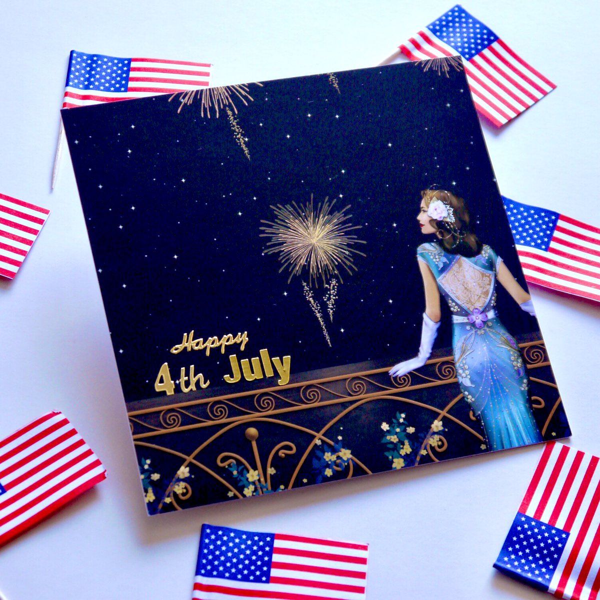 Wish your friends across the pond a Happy 4th of July with one our handmade cards! Available in our #Etsy shop now 🇺🇸 #hedgehogcraftco #handmade #4thofJuly #IndependenceDay #supportsmallbusiness #shopindie #shopsmall