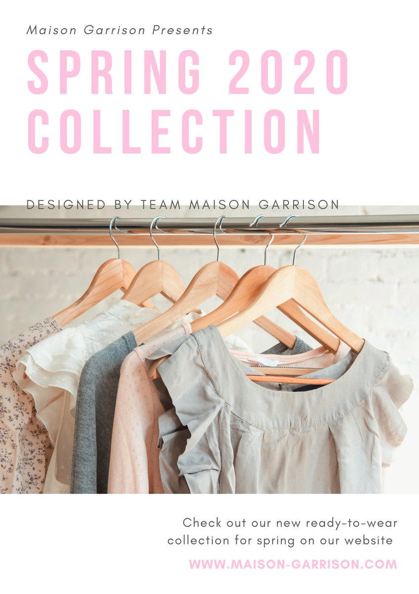 Take a look at our website, let us know what you think about our new Collection. https://soo.nr/L2RH  #love #alonetogether  #style #ootd #love #instagood #instafashion #beautiful #fashionblogger #photooftheday #fashionista #maisongarrisonpic.twitter.com/hNdDXagQAZ