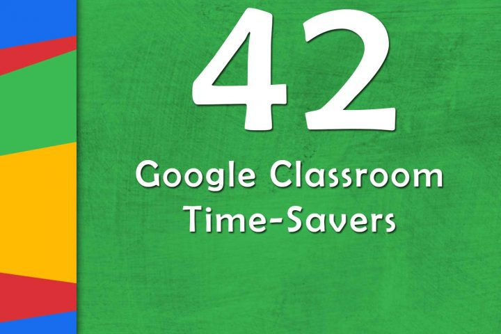 Google Classroom Time-Savers (GTT042) ditchthattextbook.com/2018/02/12/goo… #ditchbook