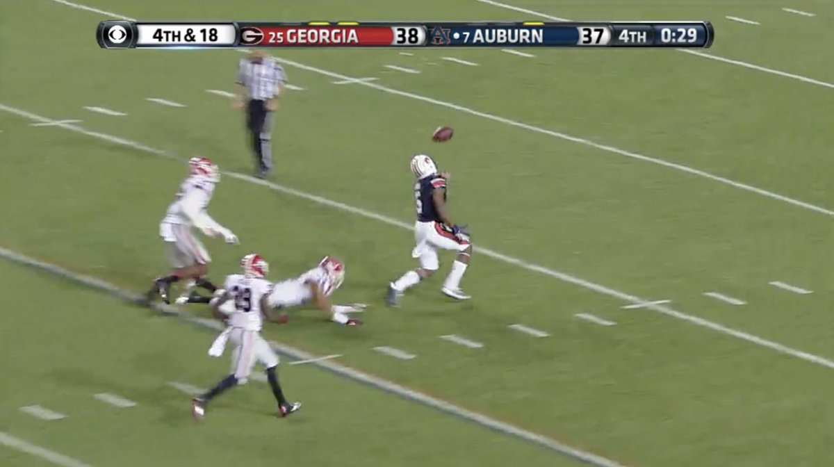 CBS relives 'The Miracle at Jordan-Hare' on Twitter