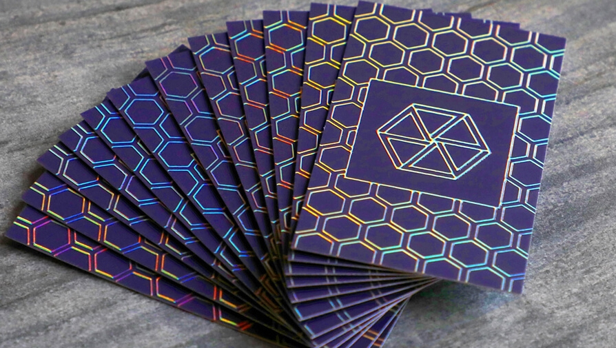 Get inspired by these holographic business cards! http://ow.ly/Sj8950zQyi6  • #businesscards #holographic #awesome #foil #printingpic.twitter.com/b4PgYefOsq