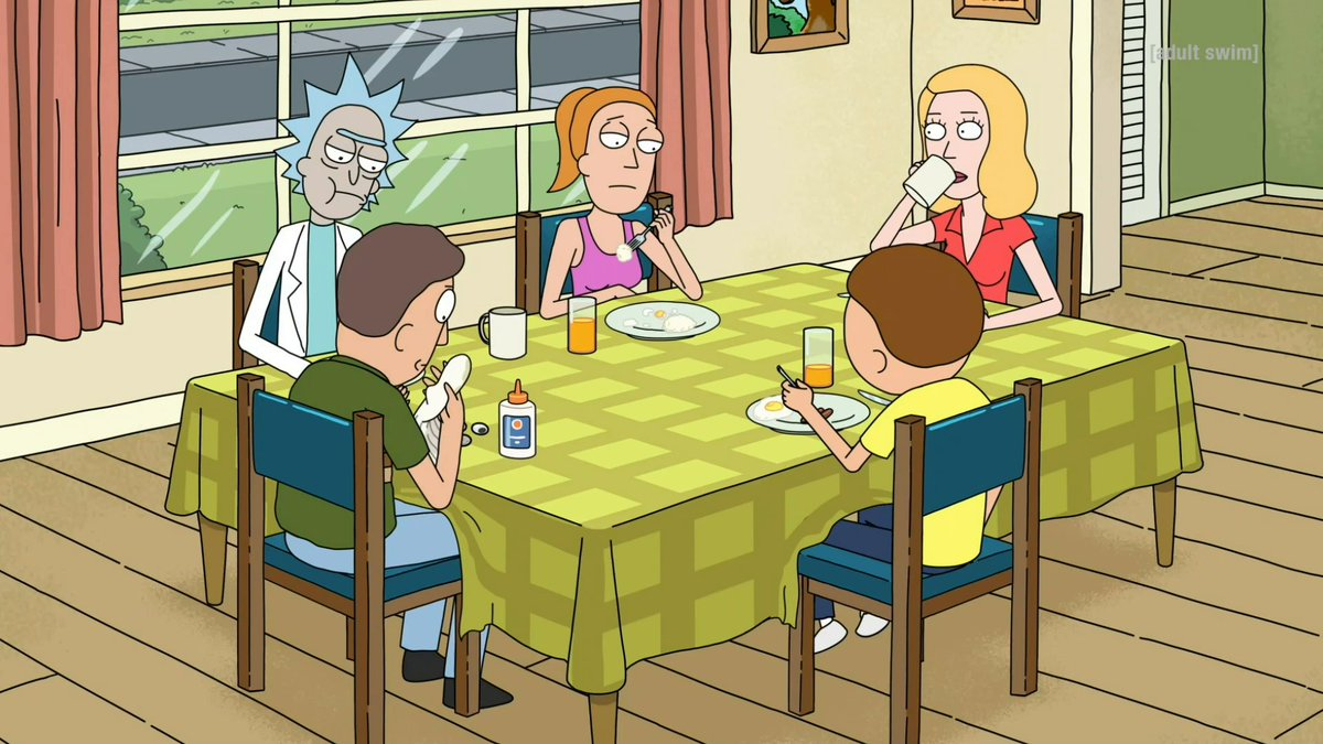 No therapy puppets. Season 4 finale of @RickandMorty - tomorrow at 11:30pm EST/PST on #adultswim.