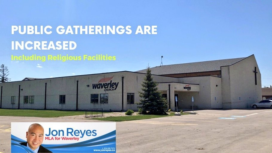 test Twitter Media - Just a friendly reminder public indoor gatherings have increased to 25 and outdoor gatherings allow up to 50 people which includes religious facilities. For more information, please visit https://t.co/Xt4qp1y5Ej #Covid19MB #mbpoli https://t.co/AQkhWu3ySZ