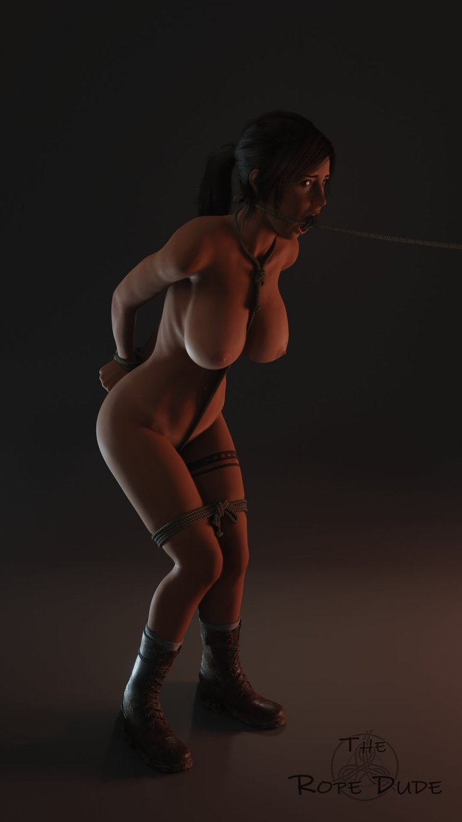 WIP of the work I want to make. Trying to make good ropes with physics and all, a bit long to do but I think it can make good things ^^.  Model from @wildeerstudio   #laracroft #tombraider #wildeer #walk #nsfw #r34 #rule34 #3dporn #bondagepic.twitter.com/bHoOOPzVHr