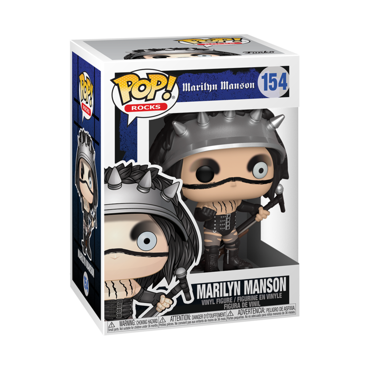 RT & follow @OriginalFunko for the chance to win a Marilyn Manson Pop! bit.ly/3gAQn7r