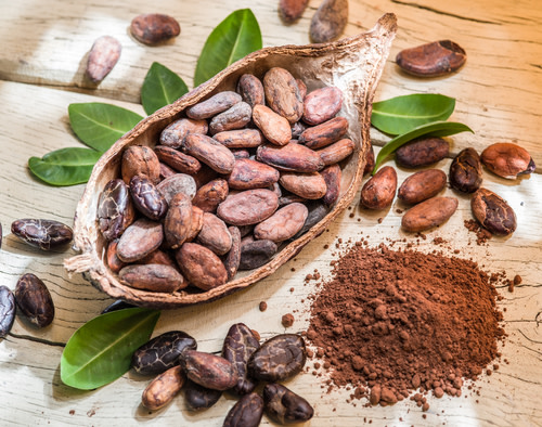 Did you know that back in the days of Moctezuma II, the best cacao beans were currency? What they could buy: 1 bean = a tamale, 100 beans = good turkey hen, 8000 beans = a copper ax. Now you know!   Check out more fascinating chocolate history here: https://t.co/fgSWiH0mud https://t.co/yKbcW1WDz8