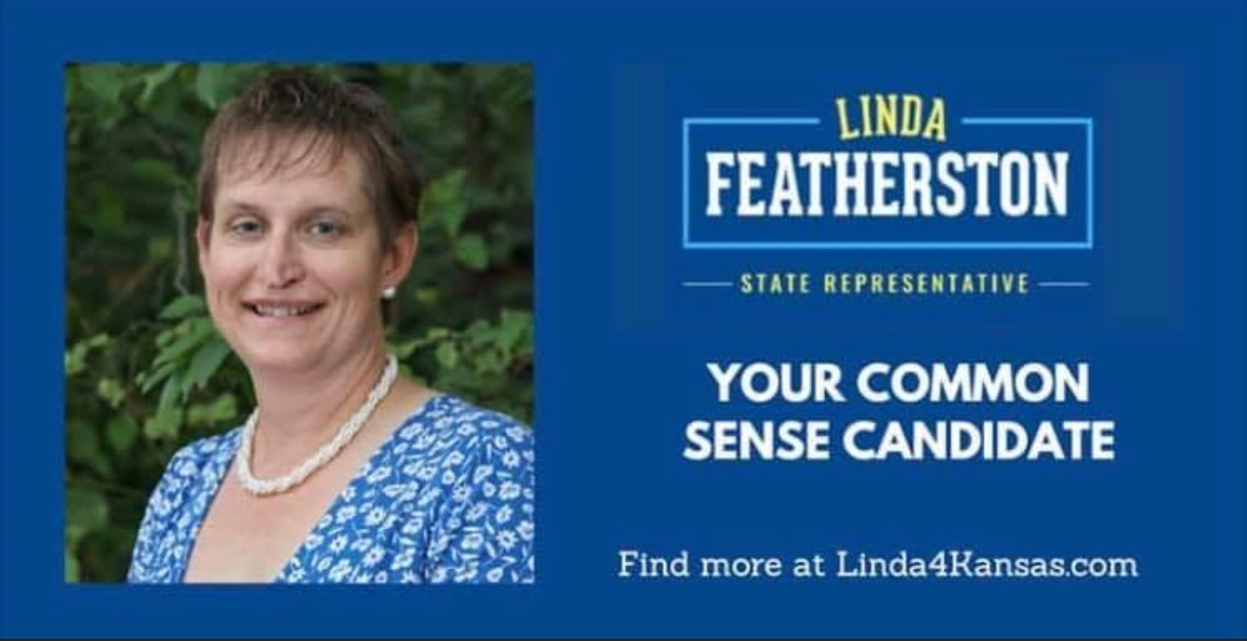 I'm taking positive action by investing in a positive future! Linda will support Governor Kelly, our public schools and science! Please join me in supporting Linda Featherston via @actblue secure.actblue.com/donate/feather…
