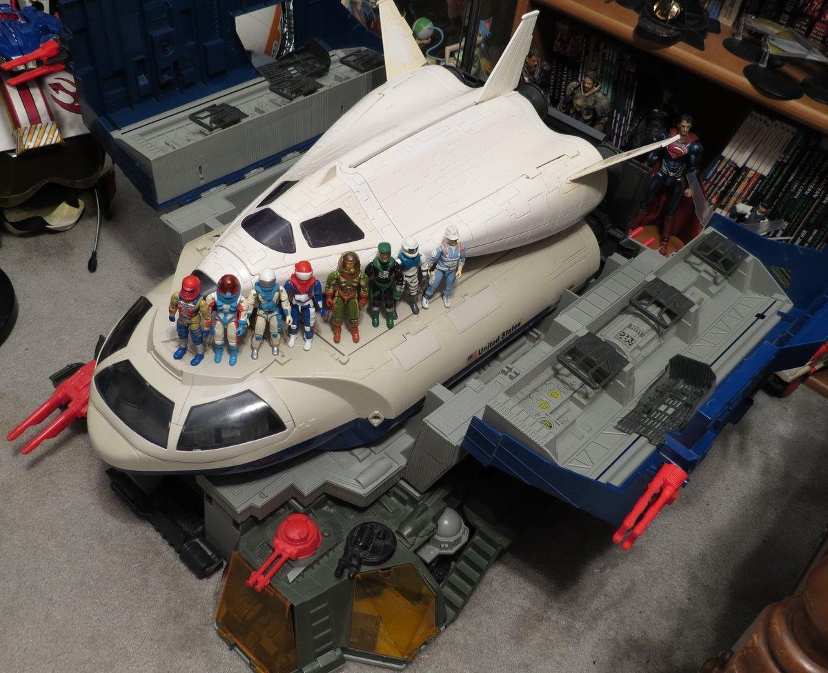 After seeing the successful Space X launch decided to share my #GiJoe Defiant Shuttle and Crew!   #yojoe #shuttle  @ClassicGIJoe @dragon_fortress @BattleArmorDad1 @optimalomega @IronApostle @GeekToyLove @iggaryv @capecoraldwells @badmojo013 https://t.co/3jTFEBbBEA