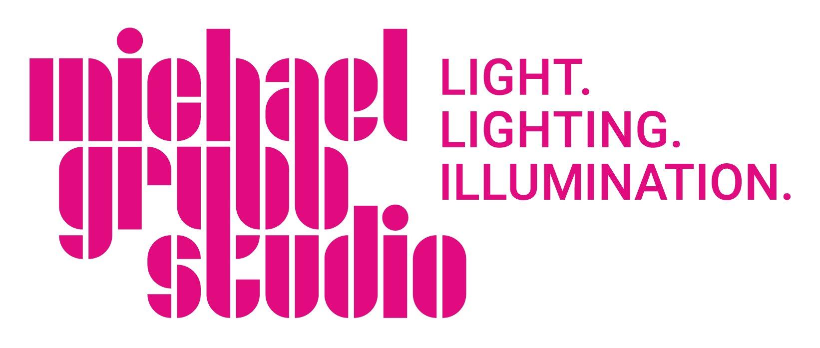"Michael Grubb Studio on Twitter: ""Our new logo and strapline. Graphic  design by @saul_studio #brand #logo #lighting… """