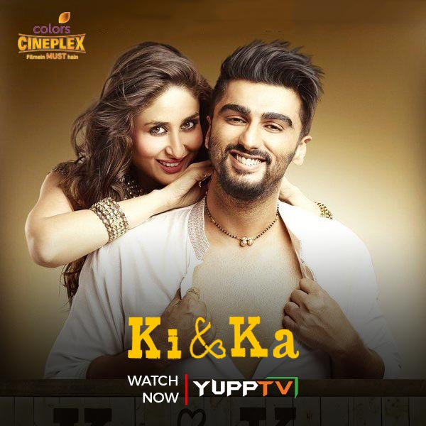 A young married couple challenges the gender roles placed upon women and men in Indian society. Watch the coming of age, urban story #KiandKa starring #KareenaKapoorKhan & @arjunk26 , now on Catch-up of @Colors_Cineplex at  #YuppTVAPAC #YuppTVEU