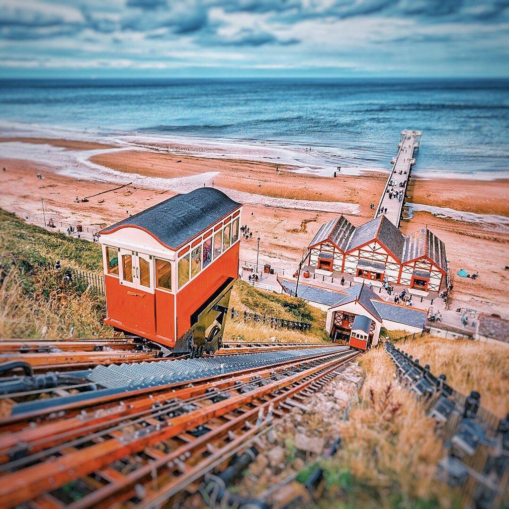 The Saltburn Cliff Lift ————————————Saltburn-by-the-Sea: #Yorkshire  ———————————— #englishtourismweek20  #welcometoyorkshire #ThisIsEngland #igersuk #LoveGreatBritain #OMGB #MyMicroGap #bbcyorkshire #bbcweather #bbclooknorth #itvcalendar #photography #StormHourpic.twitter.com/giEf08imix