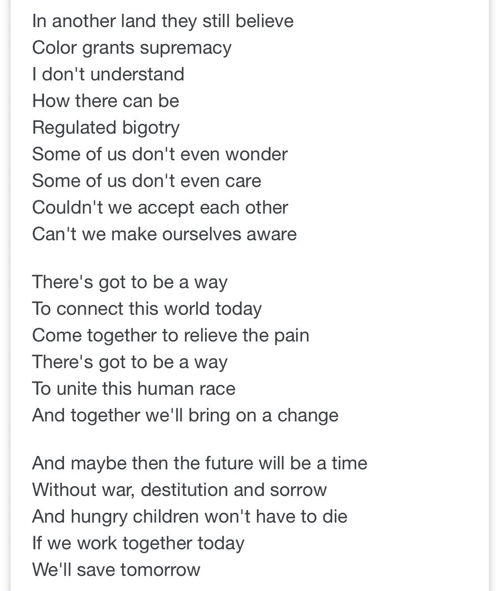 A 20 year old Mariah Carey wrote these powerful, relevant lyrics. This is why she's the GOAT, not cause of her voice, but because the message in even her earliest songs are widely important. <br>http://pic.twitter.com/ZQKq3m93tt