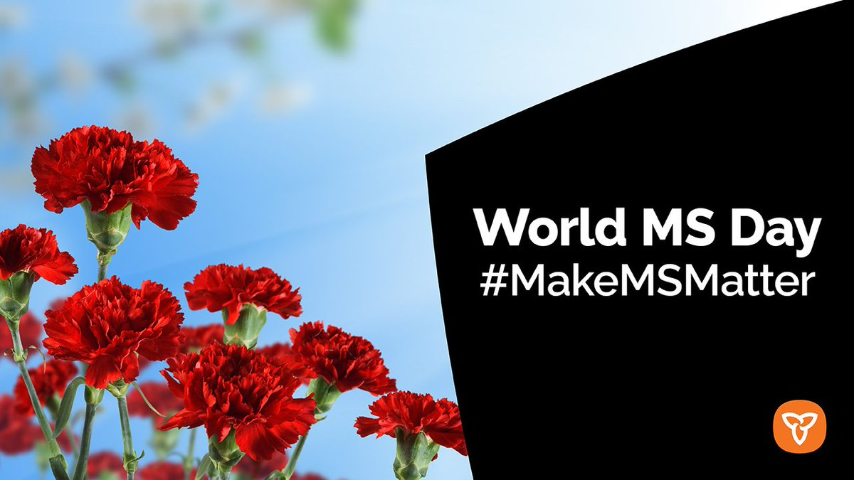 May 30 is #WorldMSDay, an opportunity to come together to recognize and show our support for those affected by MS. #MakeMSMatterpic.twitter.com/drmfzyzxHw