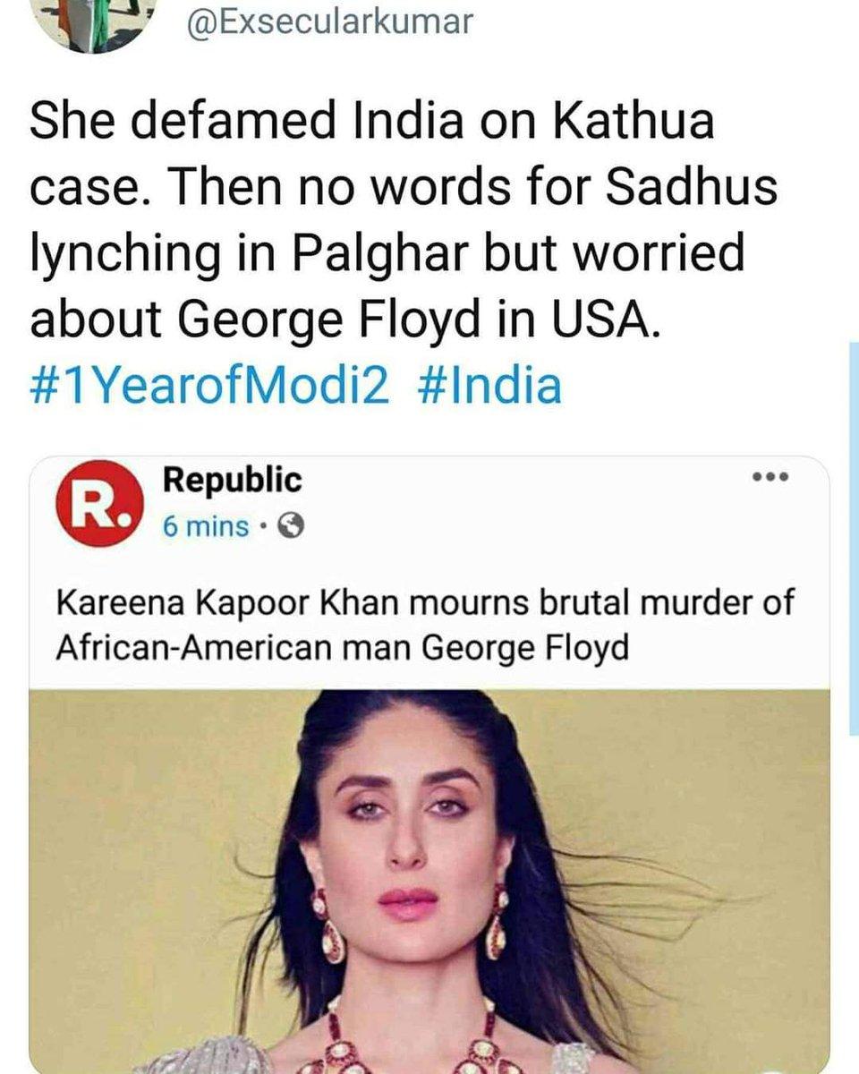 @kareenakapoor palghar India main ata hai America nahi .. acha brand value ka soch rahay ho #KareenaKapoorKhan #1YearofModi2