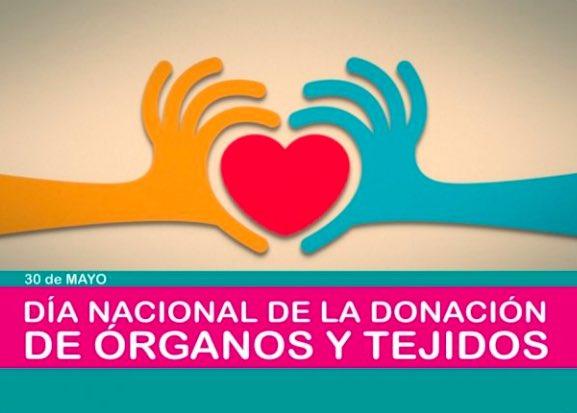 Hoy es el Día de la Donación de Órganos y Tejidos en nuestro país. Abracemos la vida, y también a todas aquellas familias que han tomado esta decisión, para poder dar segundas oportunidades a otras personas. Sigamos siendo solidarios, donar órganos es dar vida! #Chubut https://t.co/Ewjj0vTprE