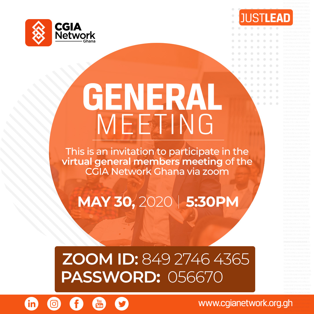 #VirtualMeeting Having our 1st virtual general meeting today. Join us if you can. #cgiainstitute #cgia #finance #investmentpic.twitter.com/mYcadmPVxH
