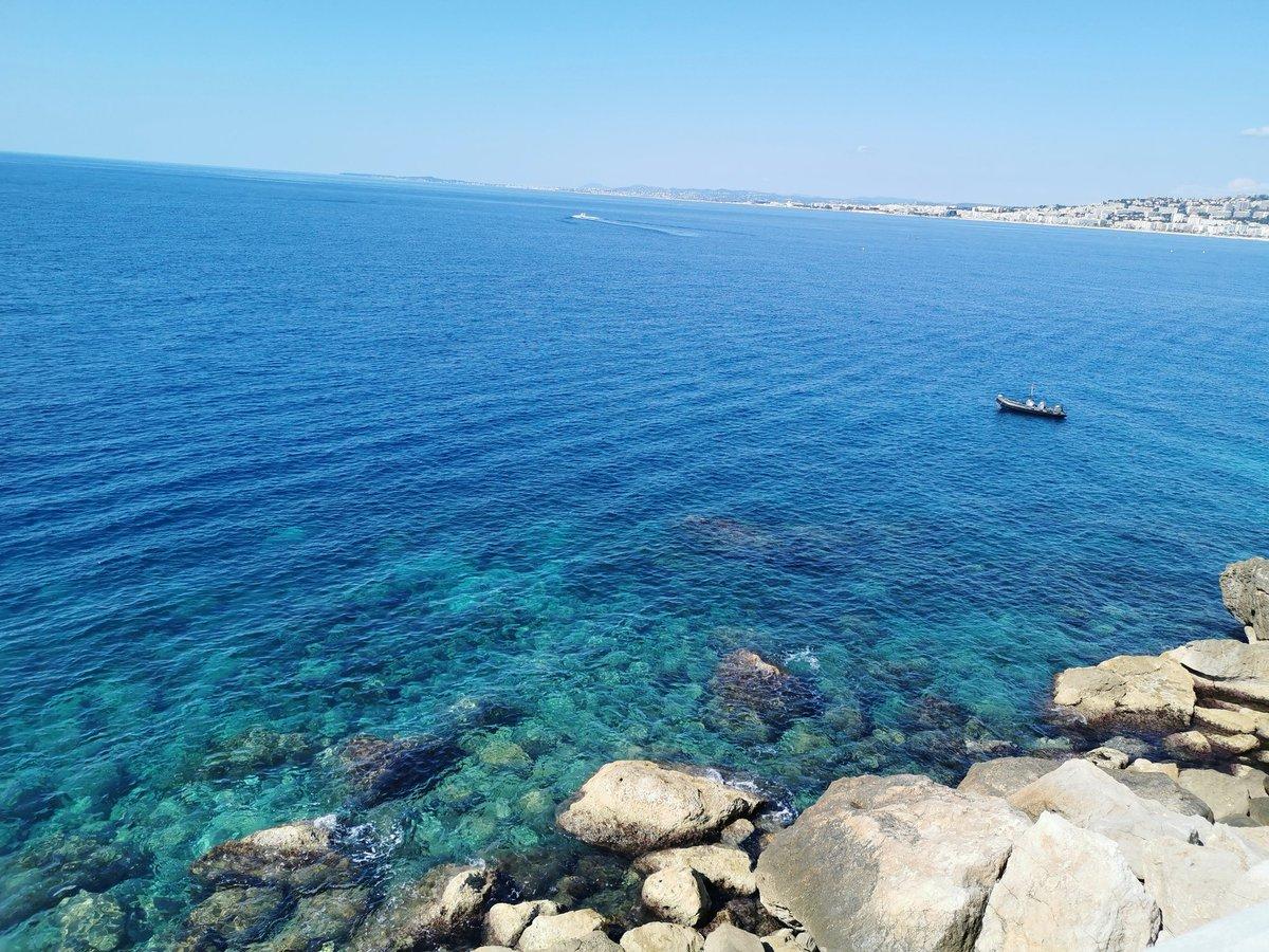 Balade matinale en bord de mer ☀️ #Nice06 #Nice #ILoveNice