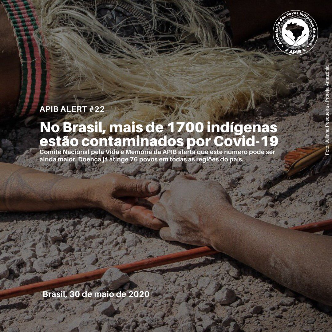 A morte para nós Indígenas é um importante ritual de passagem e de despedida para fazer o trânsito da morada do corpo para morada da encantaria e se tornar memória ancestral, mas com o aumento acelerado da letalidade do Covid-19. vidas. #vidasindigenasimportam #quarentenaindigen