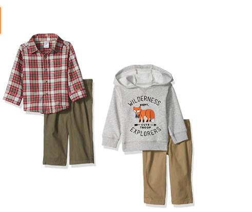 Carter's Boys' 4-Piece Buttondown Shirt, and Pant Set, Denim/Grey, 18 Months   GH₵120.00  https://bit.ly/2X4q7JI   #babyclothes #babyboy #boyplaywear #boyshirt #pantset#babygirl #babycute #toddler #Newborn #ghana #babyshower #motherhood #babygiftideaspic.twitter.com/RtRrgNU3FI