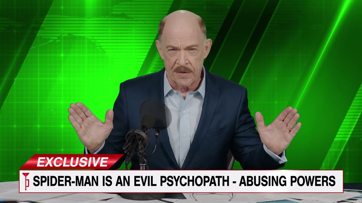 JK Simmons confirmed that he has signed contract for appearing in multiple #SpiderMan projects. https://t.co/IJwXxUSPvo