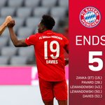 Image for the Tweet beginning: Heimsieg! 💪  🔴⚪ #FCBF95 | 5:0