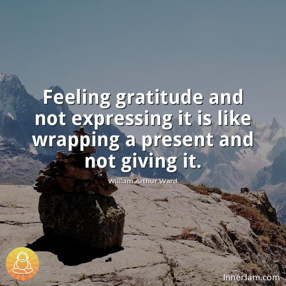 Feeling gratitude and not expressing it is like wrapping a present and not giving it. . #inspiration #motivation pic.twitter.com/o5o2axkYJ2