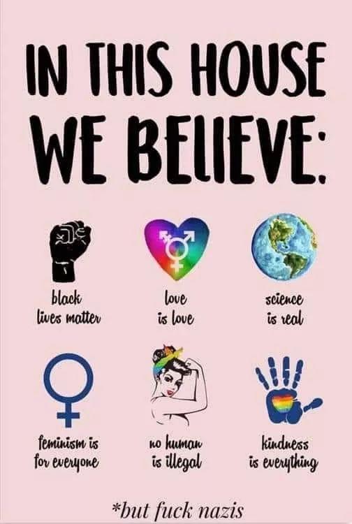 #BlackLivesmatter #loveislove #scienceisreal #feminism #HumanityFirst #kindness https://t.co/3Rosqpa6Sp