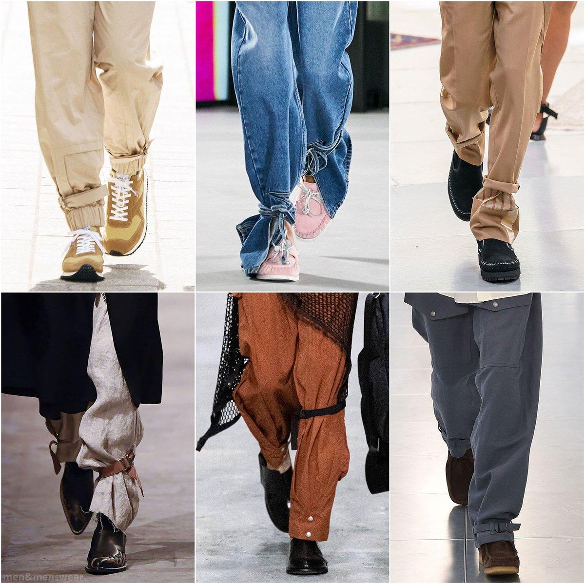 #chalayan #loewe #sacai #bedjwford #acoldwall #kentandcurwen #fashion #style #menswear #mensfashion #menstyle #springfashion #summerfashion #runway #fashionshow #pants #trousers #trendpic.twitter.com/R6pdtfbT3N