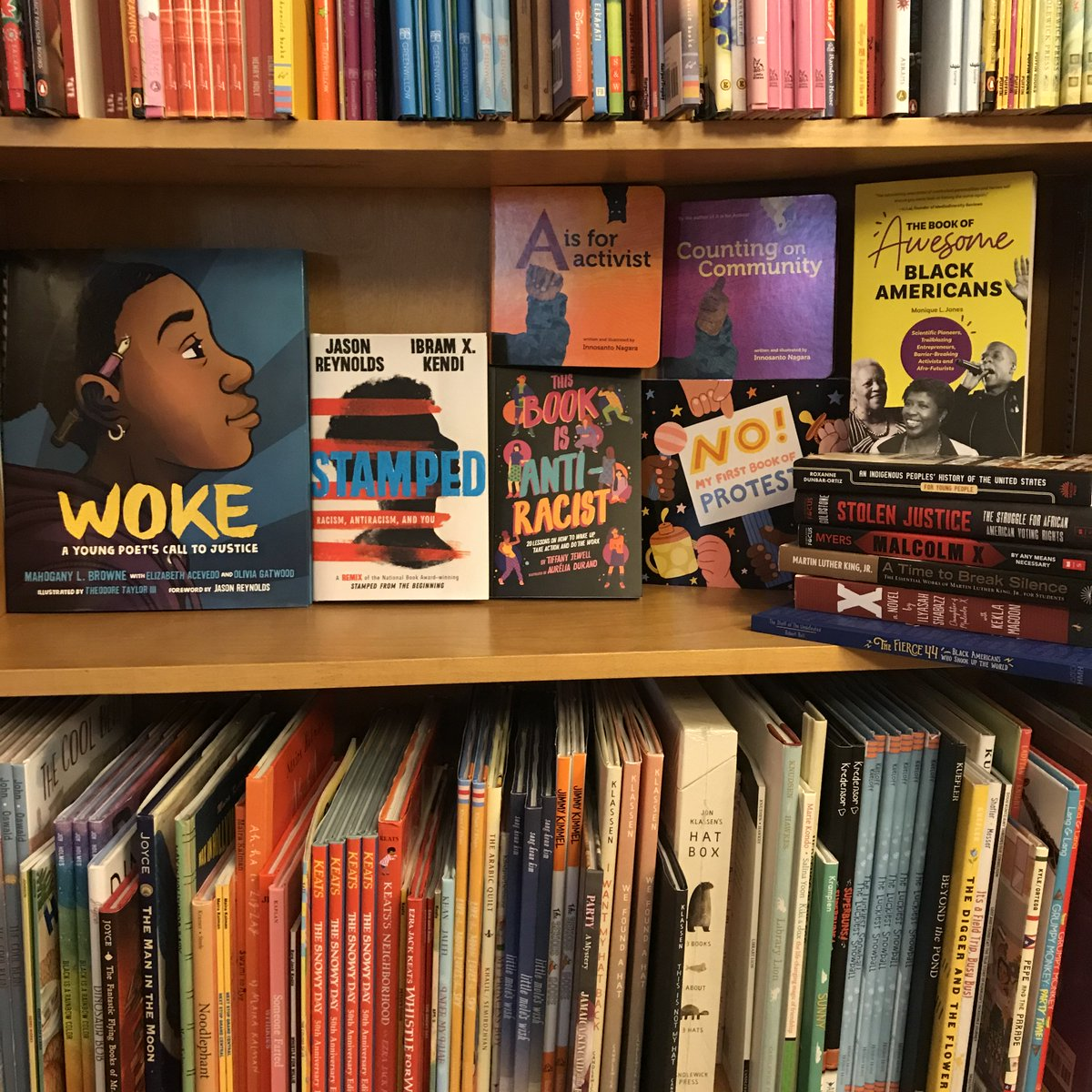 Essential anti-racist reading for kids, from board books to YA. greenlightbookstore.com/curbside