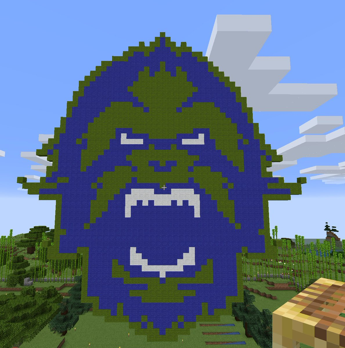 What do people in the #TeamRSP #Minecraft server get up to these days? Stuff like this! Well done @Corhen! #ForceOfNature #VancouverTitans #OWL2020 https://t.co/2O7uX6MOp5