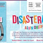 Image for the Tweet beginning: ANNOUNCEMENT:  @alvin_orloff's #DISATERAMA! is